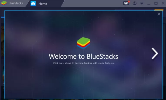 install bluestack to download Eye Cloud for MAC