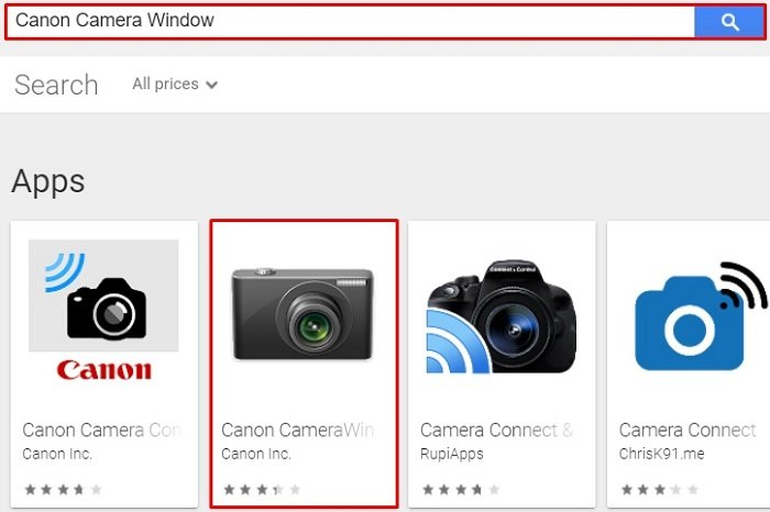 search for Canon Camera Window for Mac With MEmu Player