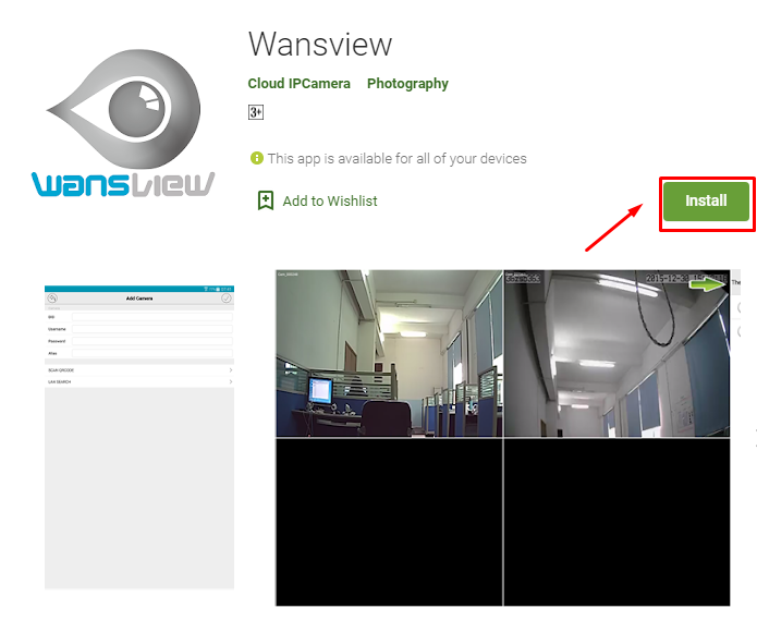 Download and install Wansview For Mac
