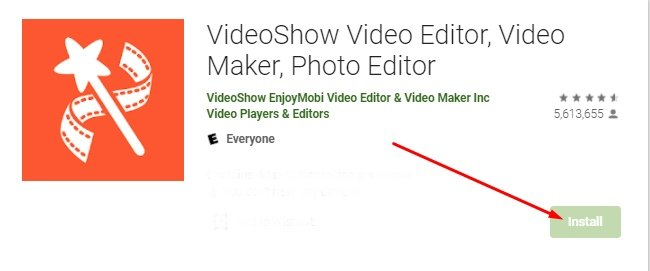 download and install VideoShow for Mac