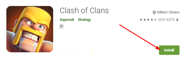 how to download and install Clash of Clans for Mac