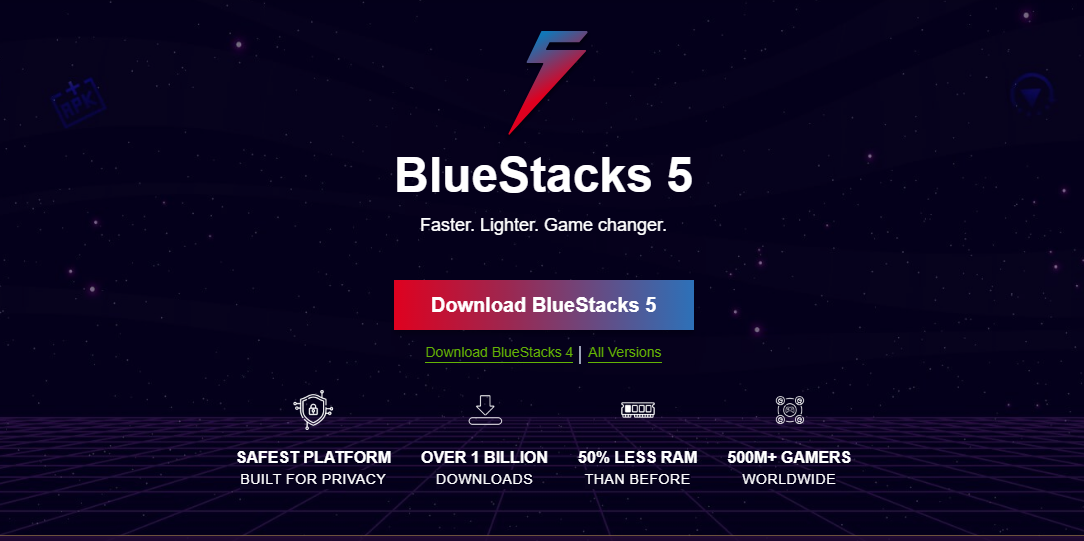 how to download bluestack