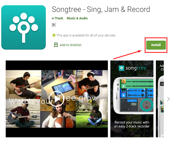 how to downlaod and install Songtree for mac
