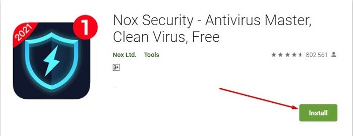 how to download and install Nox Security for Mac