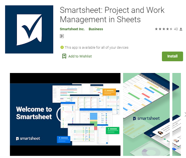 how to download and install Smartsheet for MAC
