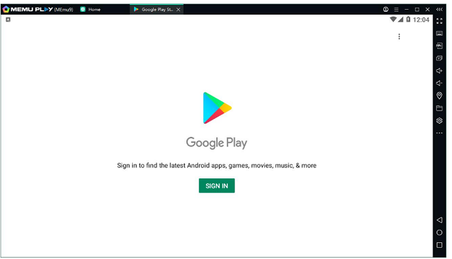 login with a gmail to get DroidCam App for Mac