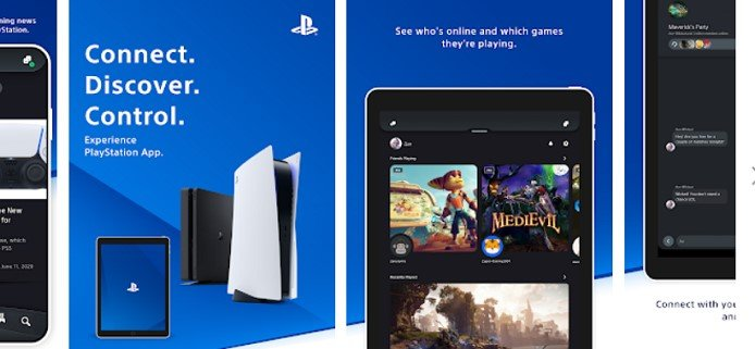 features of Playstation App for Mac